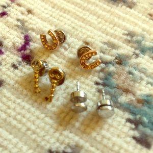 Fossil Stud Earrings